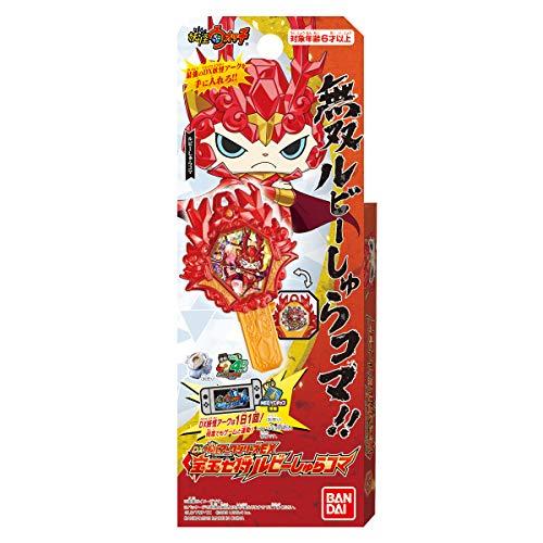 [해외]요 괴 감시 DX 유령 아크 시리즈 EX ? 玉 七 중요 루비 하 치 진 마 / Yokai Watch DX Yokai Ark Series EX Treasure Ball Seven General Ruby Shura Koma