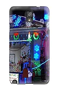 Galaxy Note 3 Case Cover Skin : Premium High Quality Christmas 7 Case