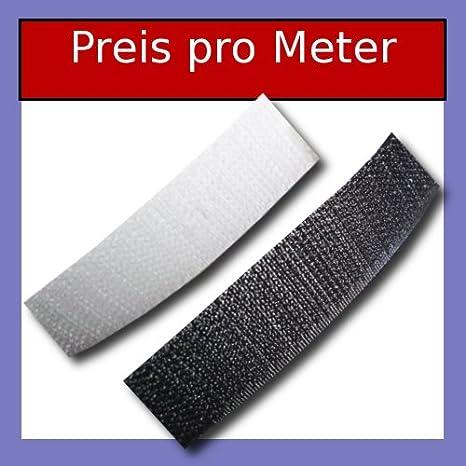 VELCRO ® marca 25mm Negro 1 Metro De Cinta Coser En Gancho y bucle de 1 metros