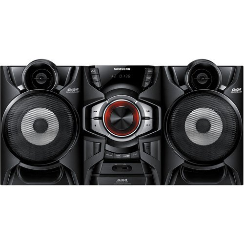 Samsung 220-Watt Bluetooth Hi-Fi Audio Stereo Sound System with CD Player, FM Receiver with 15 Station Presets, Crystal Amplifier Plus, 20 preset EQ modes, CD Ripping, USB Host by Samsung