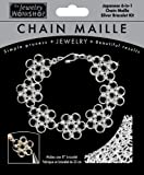 Midwest Products Chain Maille Silver Japanese 6-in-1 Bracelet Jewelry Kit