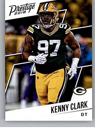 purchase cheap 50a08 33e14 Amazon.com: Football NFL 2018 Prestige #142 Kenny Clark ...