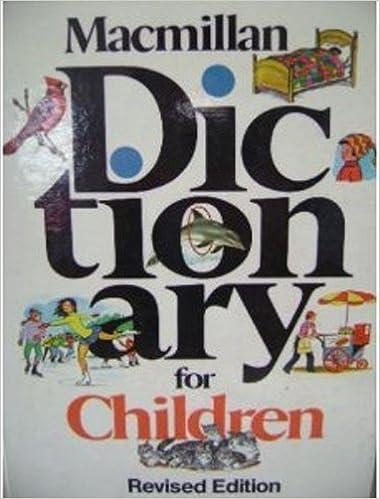 Macmillan Dictionary for Children: Macmillan, Halsey