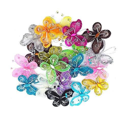 (40-Pack Organza Butterflies 2