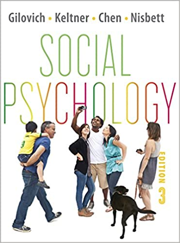 social psychology 3rd edition gilovich ebook