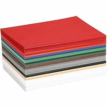Colortime, Risma di fogli colorati natalizi, 21 x 30 cm, 30 pz, colori assortiti 214440