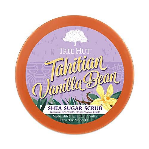 Tree Hut Tahitian Vanilla Bean Shea Sugar Scrub, Tahitian Vanilla Bean, 18 Oz