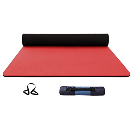 WZHIJUN Estera De Yoga 6mm Antideslizante Yoga Bicolor ...