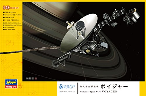 Hasegawa 1/48 science world no person space probe VoyageryJapanese plastic modelz 6