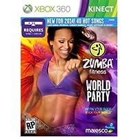 Majesco O1805 Zumba Fitness World Party Fitness Game DVD-ROM Xbox 360