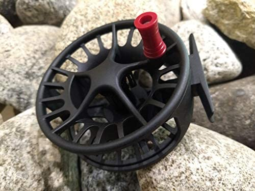 RED CUSTOM Lamson Guru replacement reel handle Made by Swift-Current