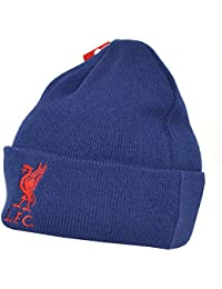 Liverpool FC Official Cuff Knitted Beanie Hat