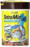 Tetra 77241 TetraMin PLUS Tropical Flakes, 1-Ounce, 185 ml