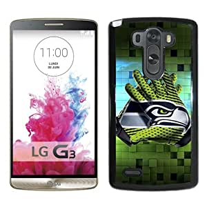 Fashionable And Unique Designed Case For LG G3 Phone Case With seattle seahawks 1 Black