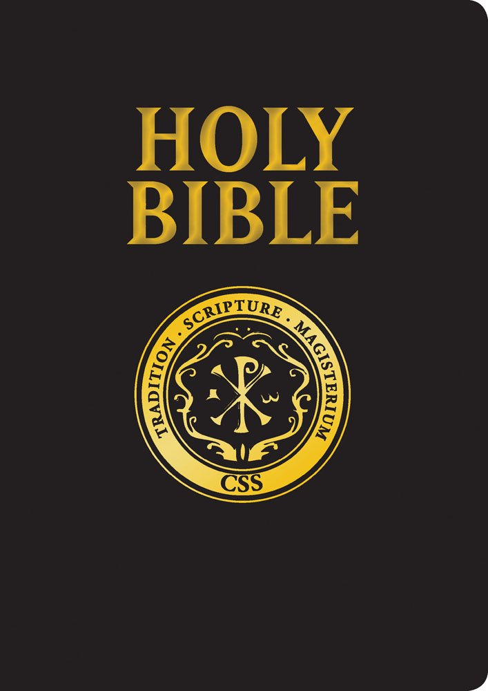Catholic Scripture Study Bible: RSV-CE Large Print Edition by SBDT