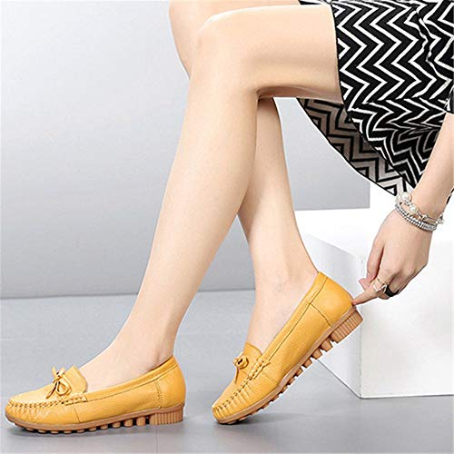 ladies non mouth casual shallow flat work comfortable C bottom soft shoes single maternity shoes shoes shoes FLYRCX Leather slip xg77w