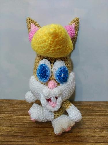 Amigurumi Bugs Bunny #amigurumi #crochet #bugsbunny (Görüntüler ... | 500x375
