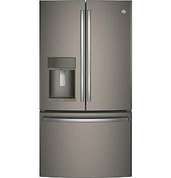 GE Profile PFE28KMKES refrigerador de puerta francesa con 27,8 ...