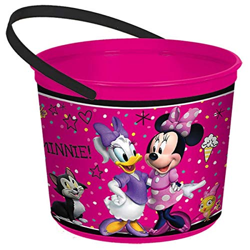 Favor Container | Disney Minnie Mouse Happy Helpers Collection | Party Accessory]()