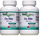 Nutricology Ox Bile 500 Mg, Vegetarian Capsules – 100 Capsules (2-Pack) Review