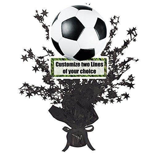 Soccer Customized Centerpiece (Each)]()