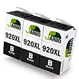 JARBO Replacement for HP 920XL 920 Ink Cartridges High Yield 3-Pack Black Compatible with HP Officejet 6000 6500 7000 7500