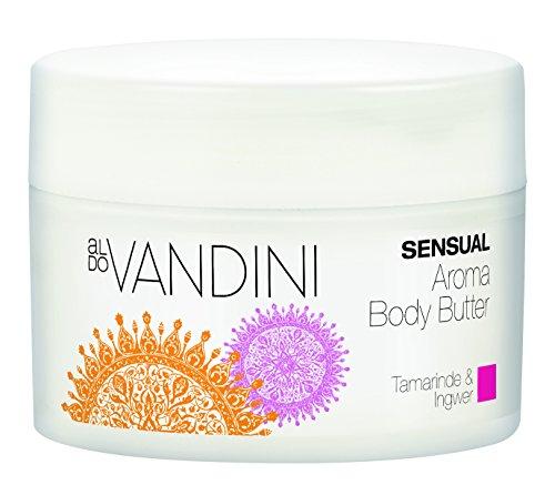 aldoVANDINI SENSUAL Aroma Body Butter - Körpercreme, Bodylotion parabenfrei & vegan