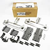 RACK ADJUSTER KIT W10712395 SAME AS PS10065979 AP5957560 W10350375 W10250159 COMPLETE KIT by WHIRLPOOL FSP