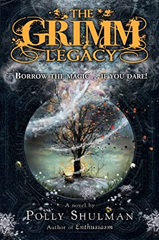 book cover of The Grimm Legacy