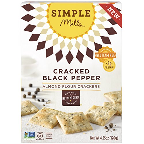 Simple Mills Naturally Gluten-Free Almond Flour Crackers