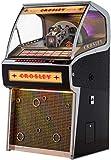Crosley Rocket Full Size Vinyl Jukebox with Bluetooth - Holds 70 45-RPM Vinyl Records