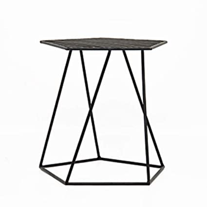 Bon XF Metal Side Table   Metal Modern Wrought Iron Coffee Table Corner Table    Metal Bracket