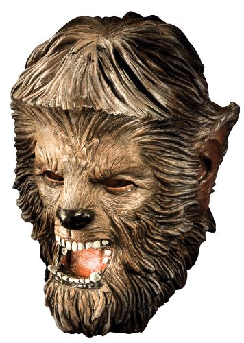 Rubie's Costume The Wolfman Mask, Deluxe Latex, One Size (Deluxe Latex Wolfman)