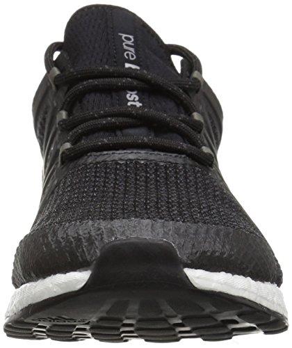Adidas Performance Women's Pureboost Xpose, Black/Black/Tech Silver, 8 Medium US