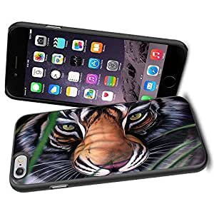Animal Nature Tiger Cool iPhone 4s Case Collector iPhone TPU Rubber Case Black