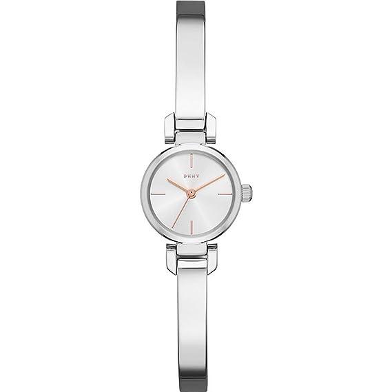 DKNY Reloj Analogico para Mujer de Cuarzo con Correa en Acero Inoxidable NY2627