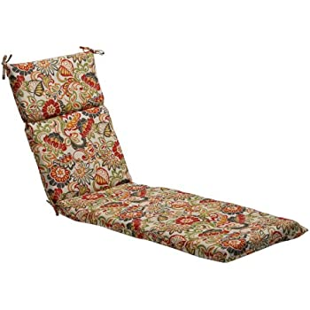 Amazon Com Pillow Perfect Indoor Outdoor Ash Hill Chaise