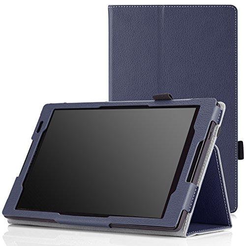 MoKo Lenovo Tab S8-50 Case - Slim Folding Cover Case for Lenovo Tab S8-50 8 inch Android 4.4 Tablet, INDIGO
