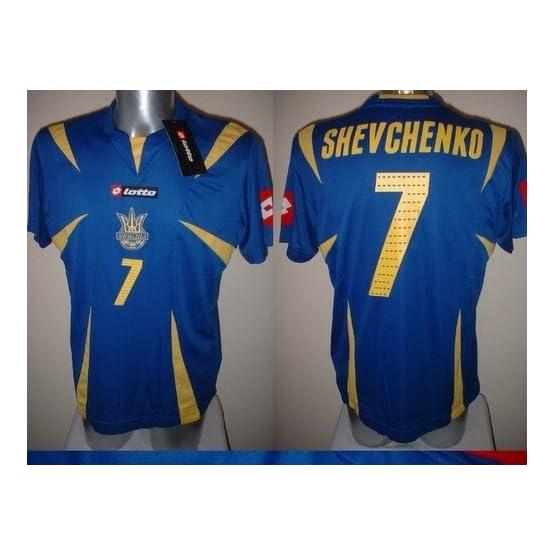 Lotto Ukraine chevtchenko pour Homme Jersey de Football de Football Adulte XL BNWT New Milan AC Taille XL Chelsea