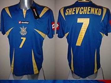 Lotto Ucrania Shevchenko Camiseta Jersey fútbol fútbol Adulto XL AC Milan Extra Grande de Chelsea: Amazon.es: Deportes y aire libre