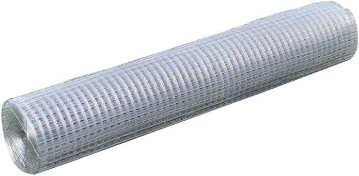 Anself Maschendraht 4-Eck Volierendraht Drahtgitter 1mx10m 0,75 mm Dick