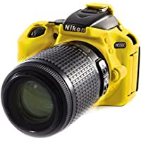 EasyCover Silicone Protective Camera Cover / Case for Nikon D5600 Yellow