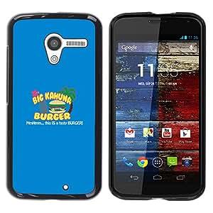 Stuss Case / Funda Carcasa protectora - Kahuna Burger - Tasty - Motorola Moto X 1 1st GEN I