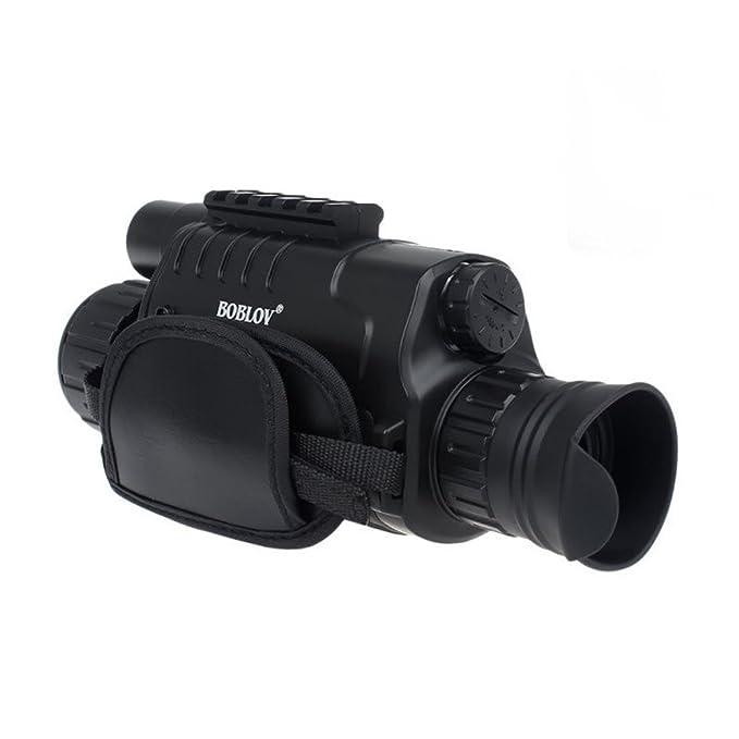 6 opinioni per WG-37 5MP 5x40 Zoom Visore notturno digitale Notte Visione Monoculare 200m DVR