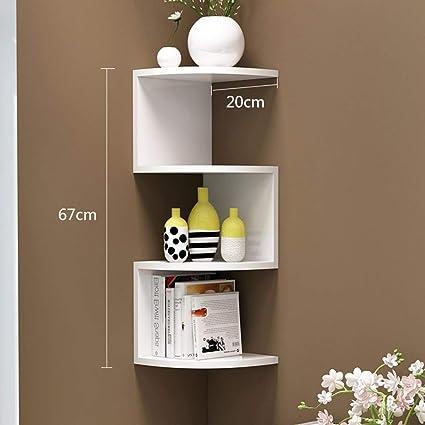 Amazon Com Pllp Home Bedroom Bookcase Bookshelf Multifunction