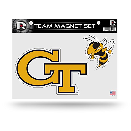 - Rico Industries NCAA Georgia Tech Yellow Jackets Die Cut Team Magnet Set Sheet