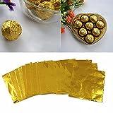 Aluminum Foils Paper Chocolate Candy