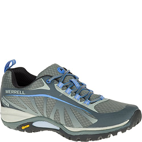 Merrell Women's Siren Edge Waterproof Hiking Shoe, Monument, 9 M US