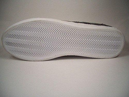 Creative Recreation Milano Low, Negro, piel Zapatillas, tamaño euro 42/Us 9/UK 8/27cm