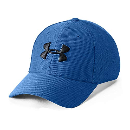 Under Armour Men's Blitzing 3.0 Cap, Royal (400)/Black, Large/X-Large -